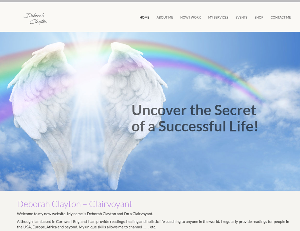 Websites for Holistic Therapists